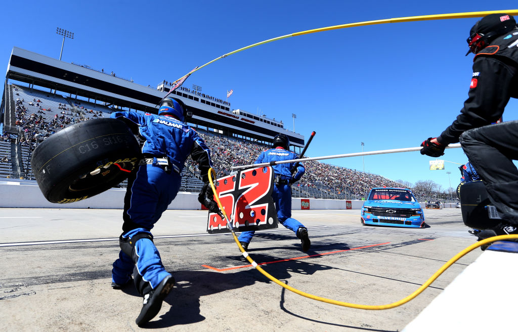 nascar pit crews are teams of athletes