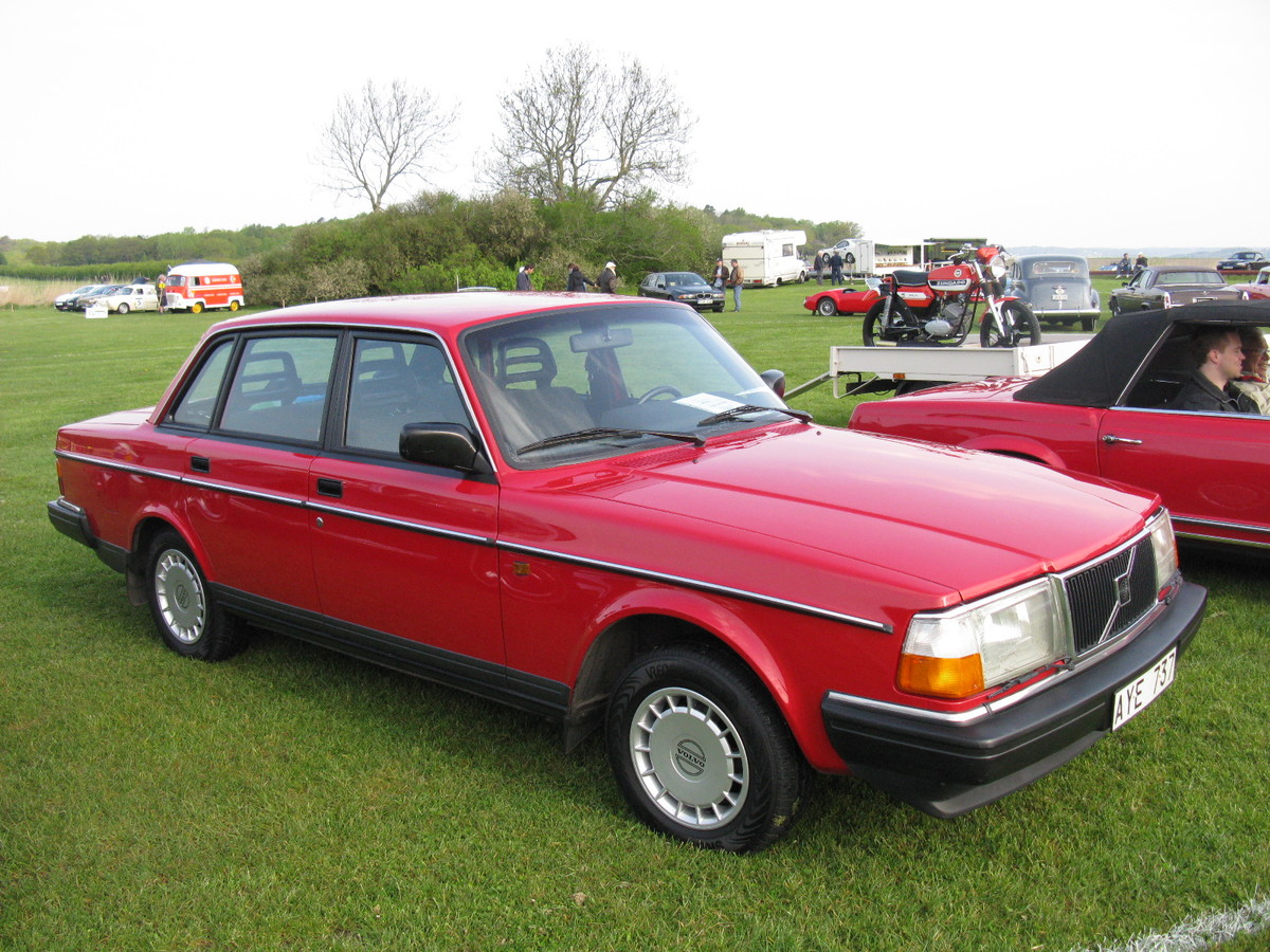 the volvo 240 is a reliable classic car that still runs today