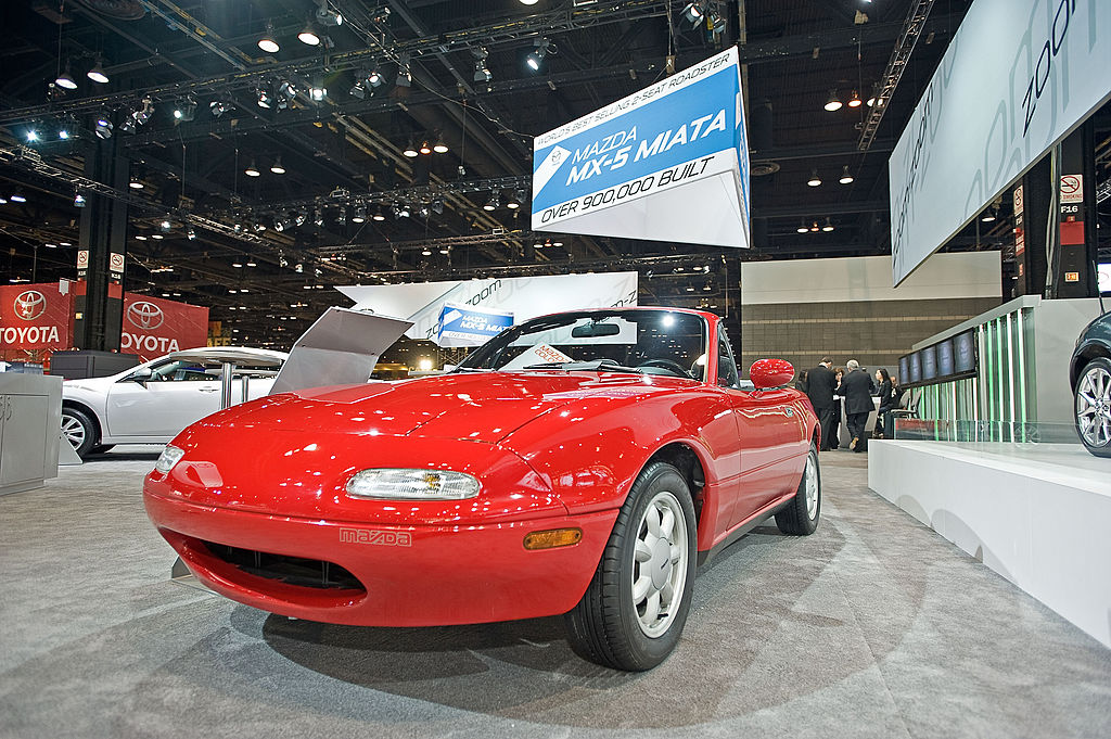 the mazda miata is a reliable classic car that still runs today