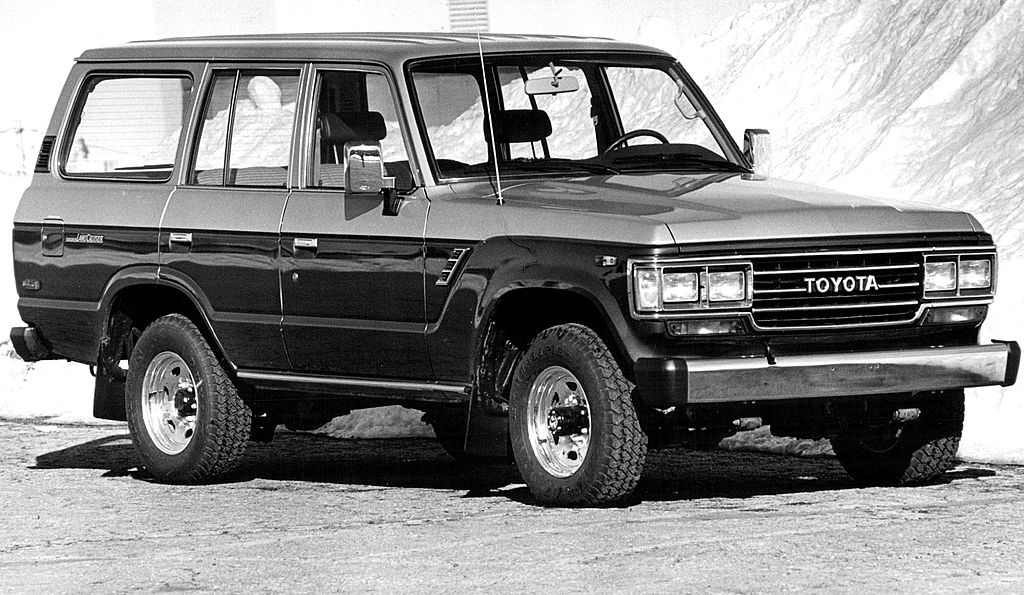 the toyota land cruiser is a reliable classic that still runs today