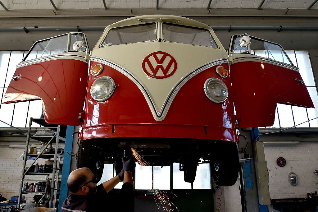the vw bus is a reliable classic that still drives today