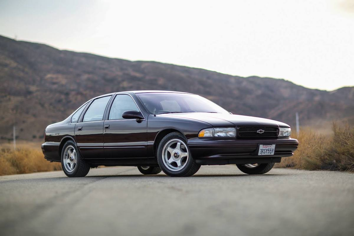 the chevy impala ss is a classic car that still drives today