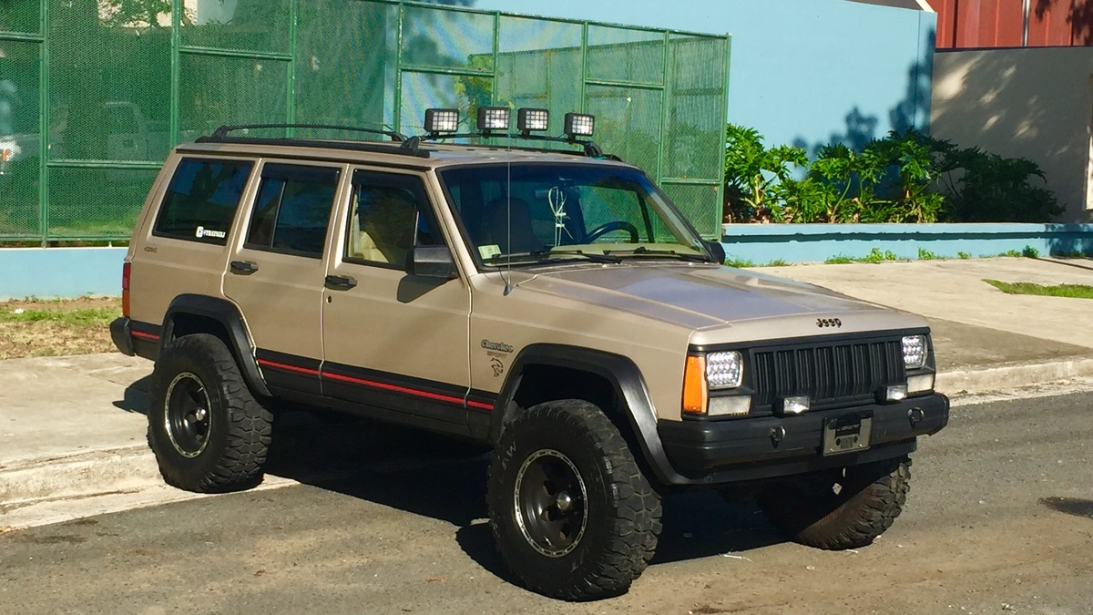 the jeep cherokee xj is a reliable classic that still runs today