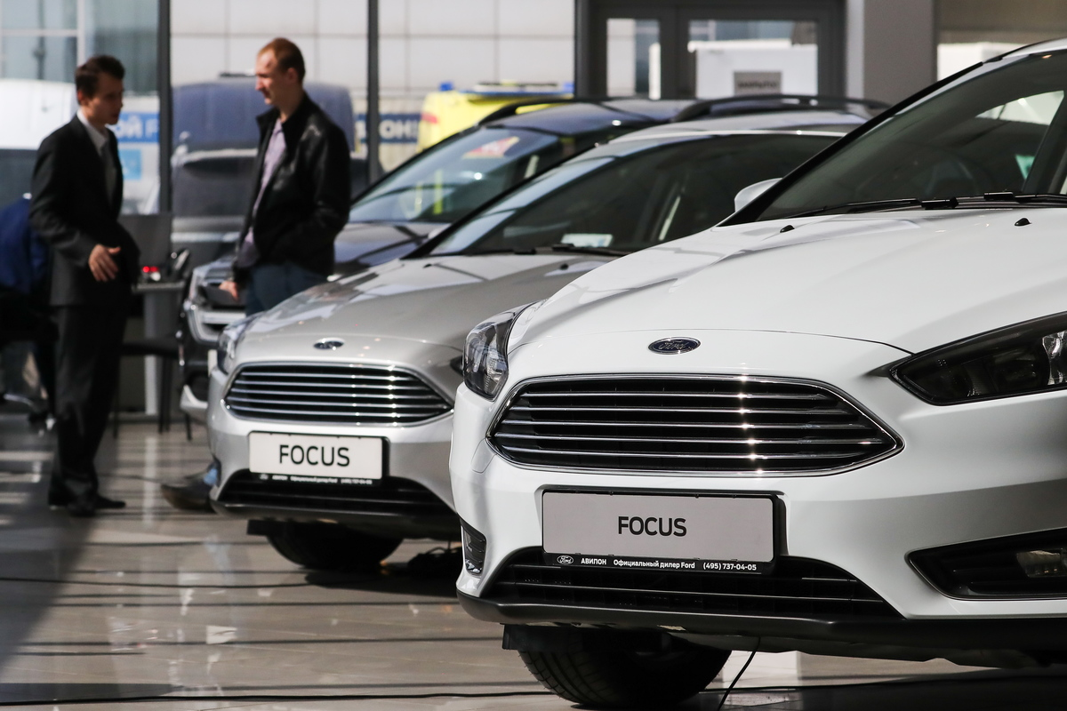 Ford dealership in Moscow