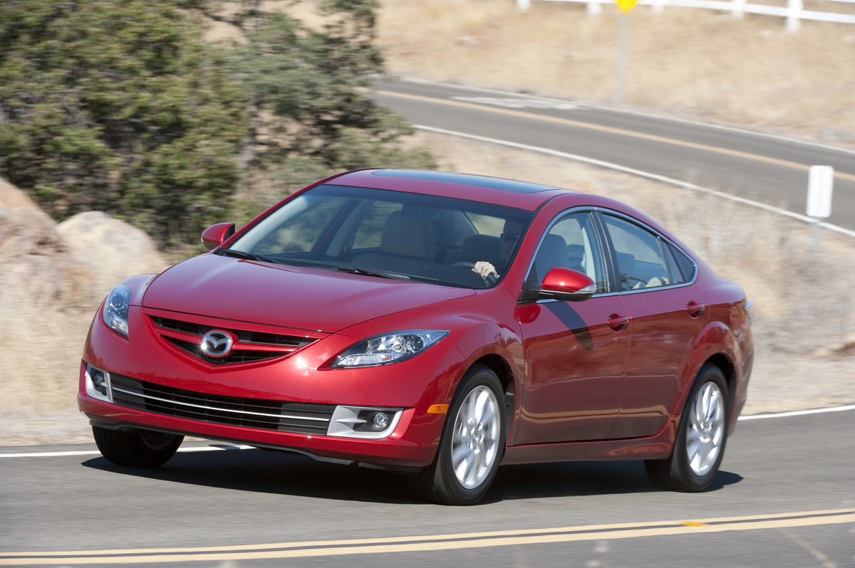mazda 6 sedan funny car recalls
