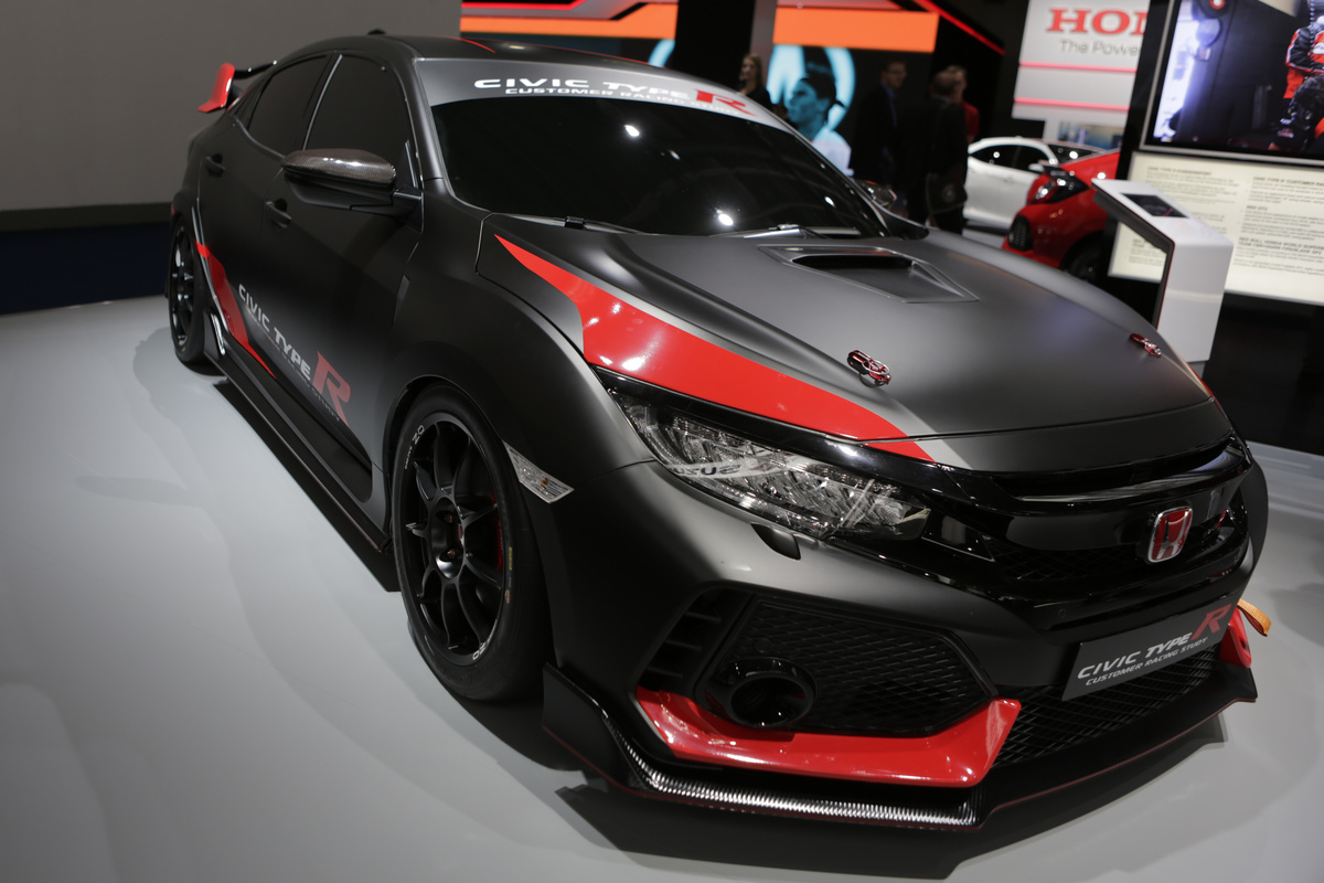 The Japanese car manufacturer Honda presents the Honda Civic...