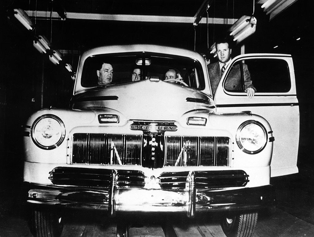 mercury ford was created in 1938