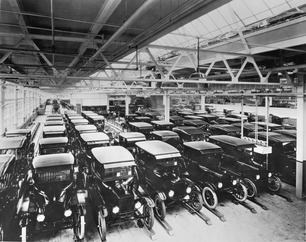 15 million model ts had been made by 1925
