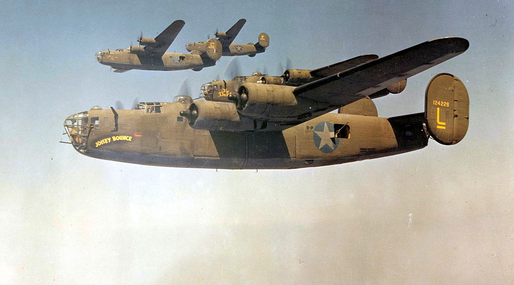 b 24 liberators were built by ford