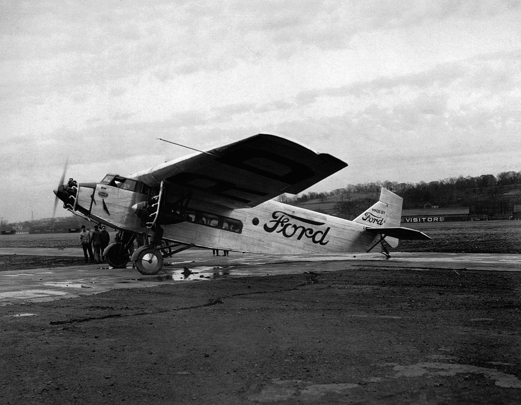 ford tri motor airplane