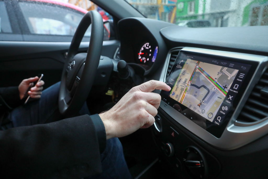 touchscreen navigation modern car upgrades