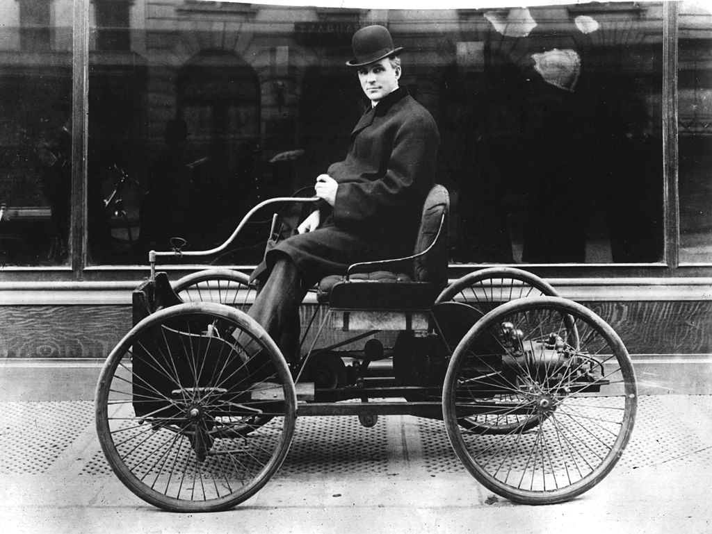 ford quadricycle first car