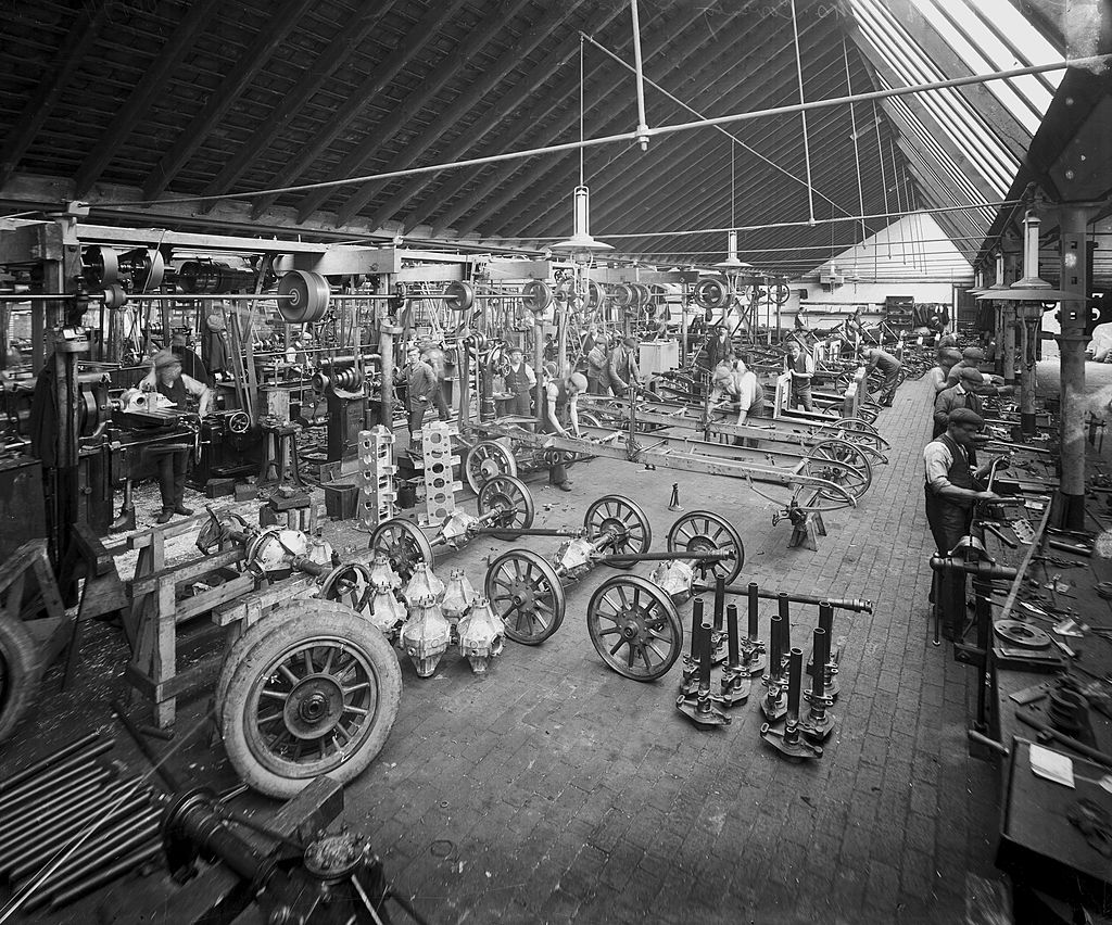 ford factory 1908 in Britain