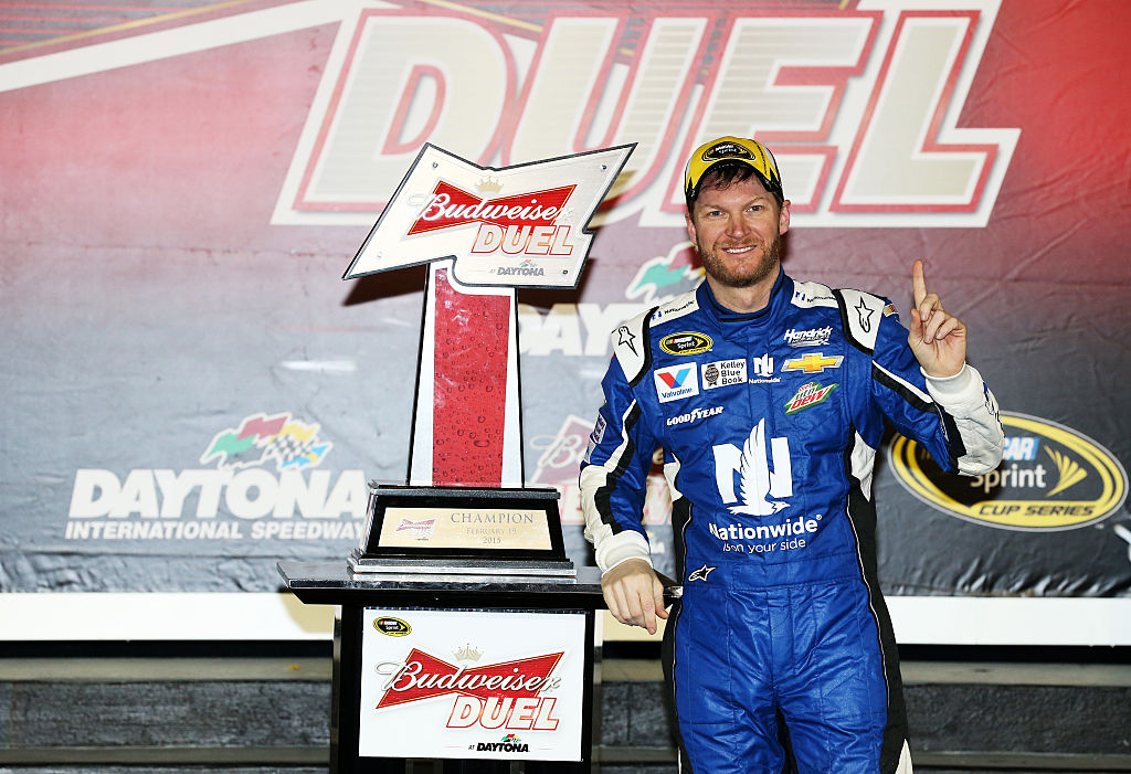 dale earnhardt jr has won several exhibition races in his career