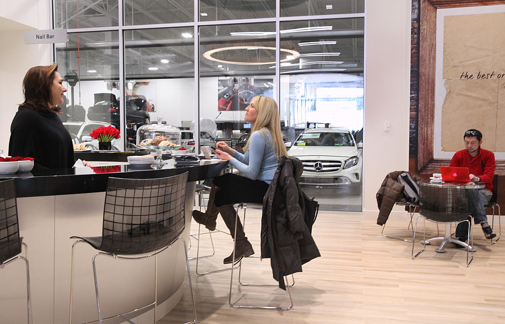 go to more than one dealer when shopping for a car