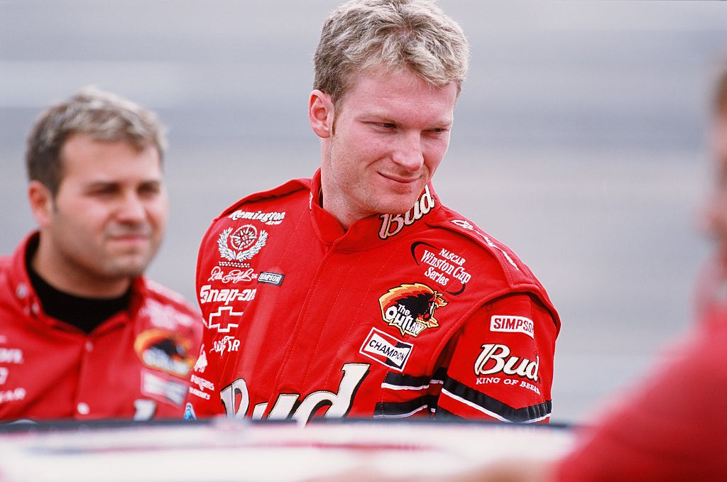 growing up dale earnhardt jr was the troublemaker in his family