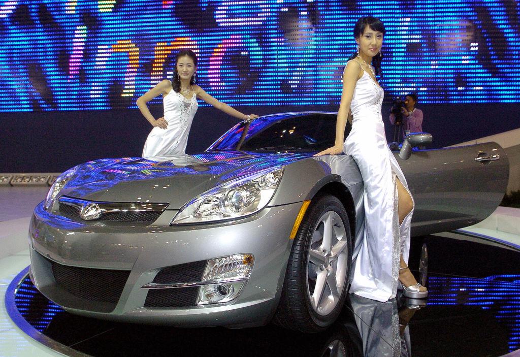 Busan International Motor Show Vehicle Display