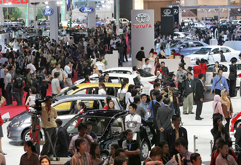 Bangkok International Motor Show Displays