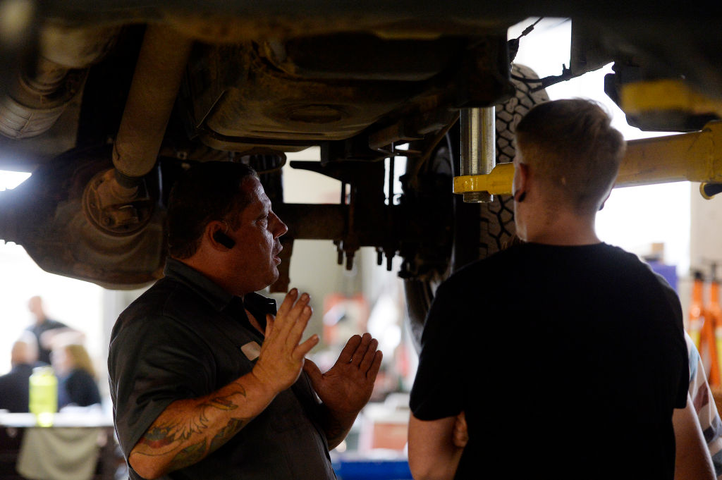 find a local mechanic before buying a car