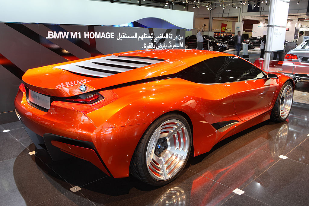 Dubai International Motor Show Exhibits