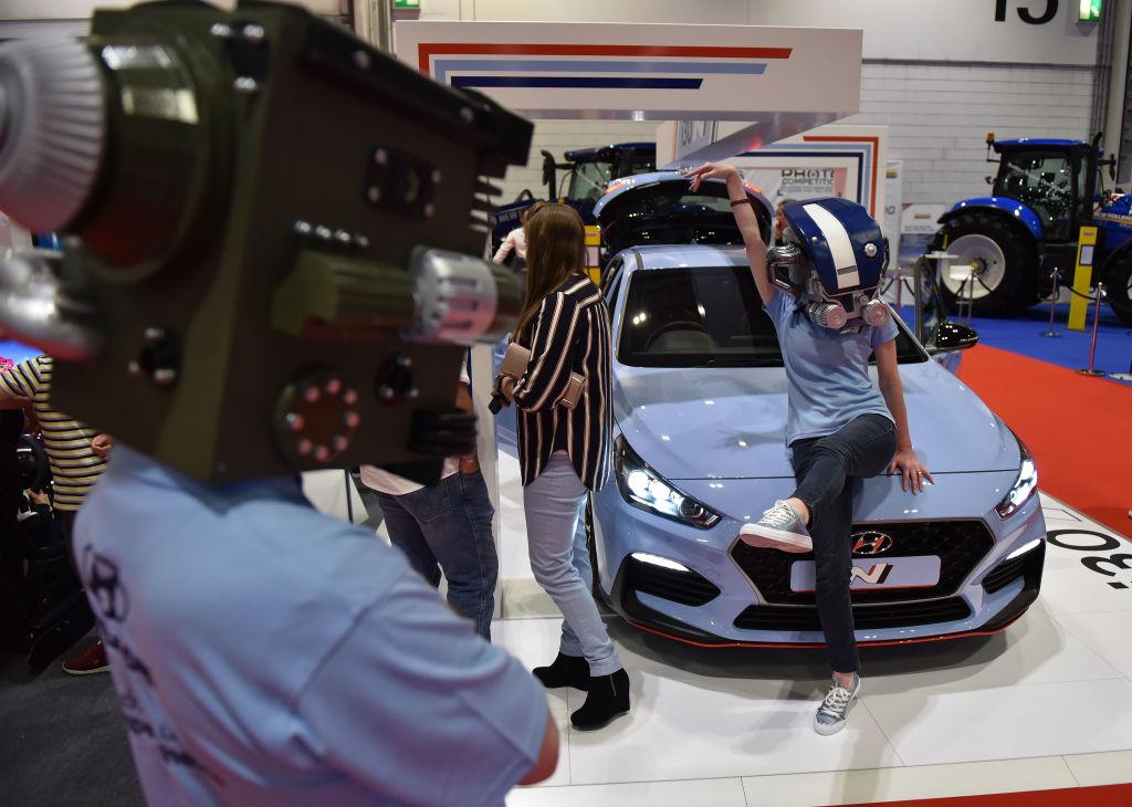 London Motor and Tech Show Display