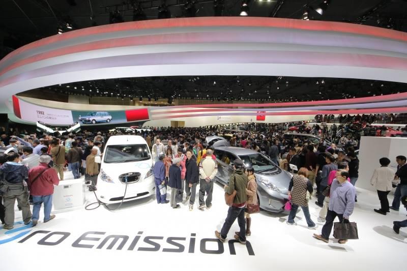 Nissan at the Tokyo Motor Show.
