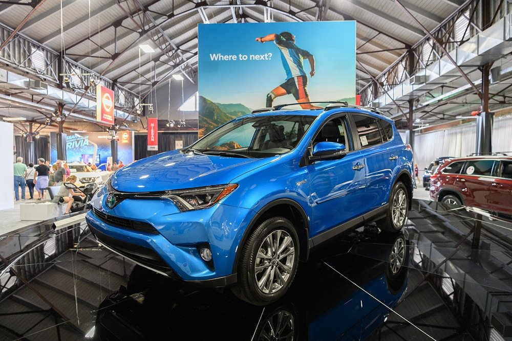 Toyota Rav 4 at the Texas Auto Show