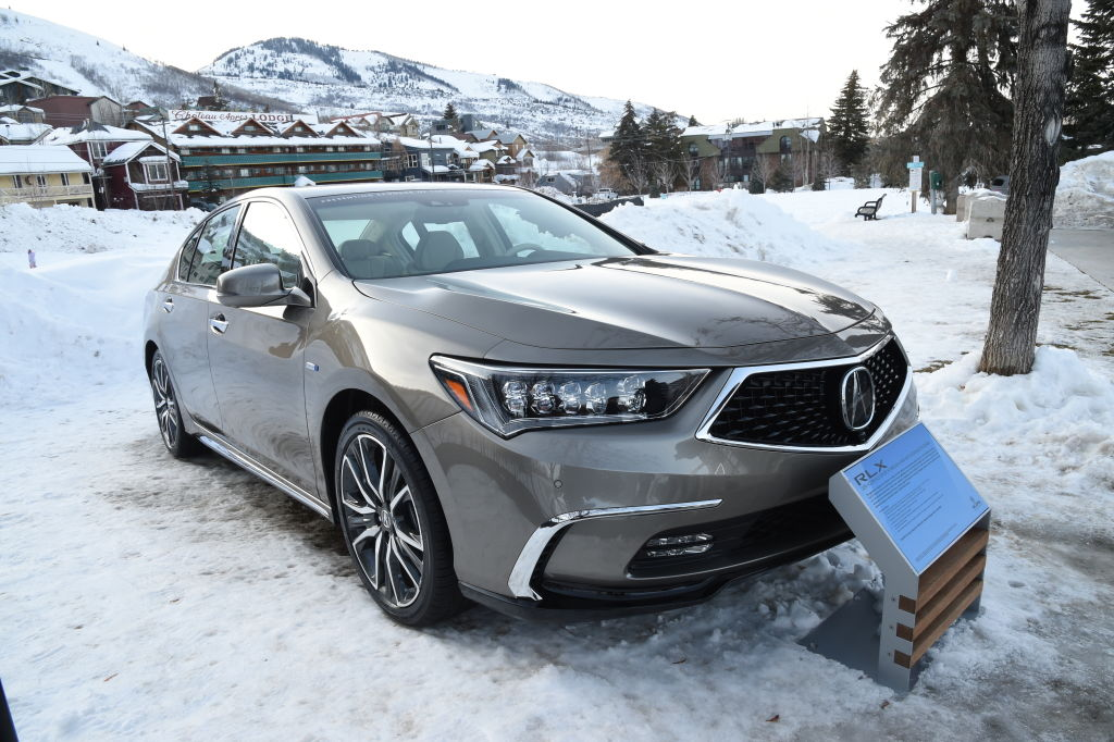 The Acura RLX on display during Acura Festival Village At The Sundance Film Festival