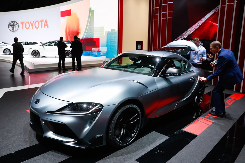 the new toyota supra is a hit for the automaker in the United States