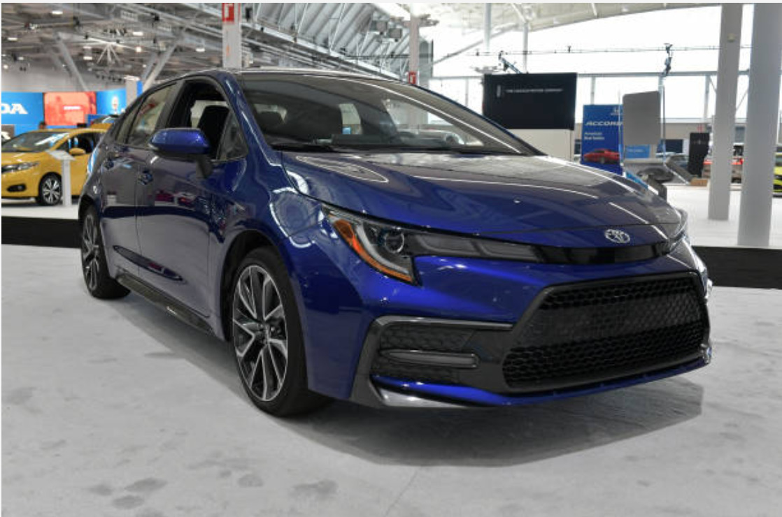 2019 Toyota Corolla new features