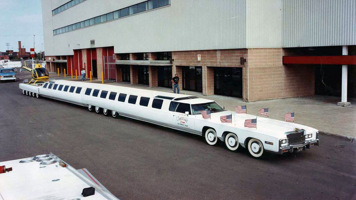 world's longest limo