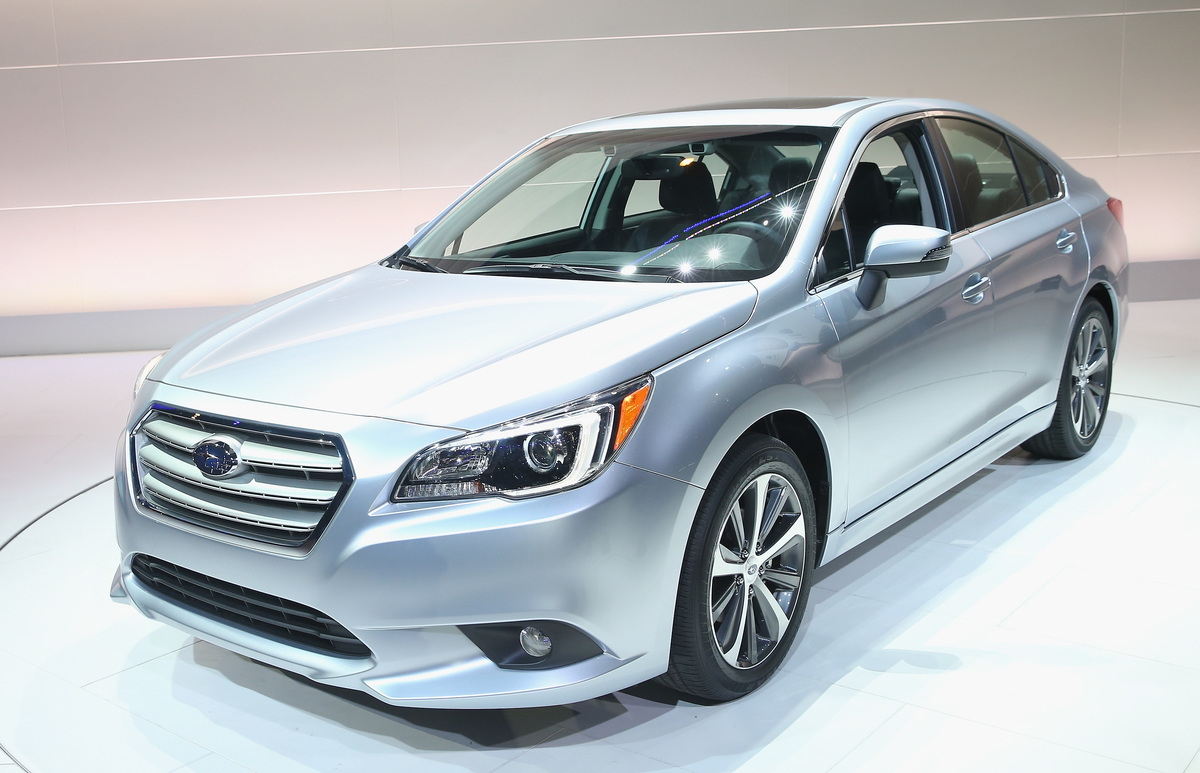 the subaru legacy is faster than it looks