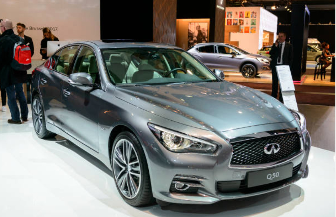 INFINITI Q50 new features