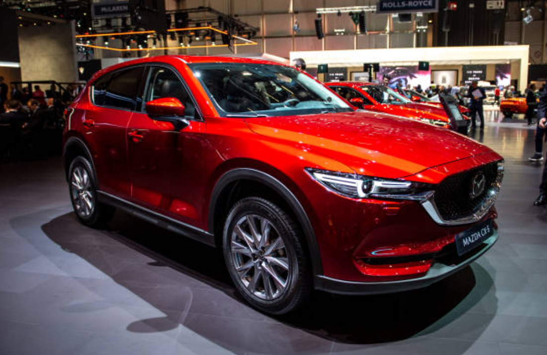 MAZDA CX-5 best new suvs