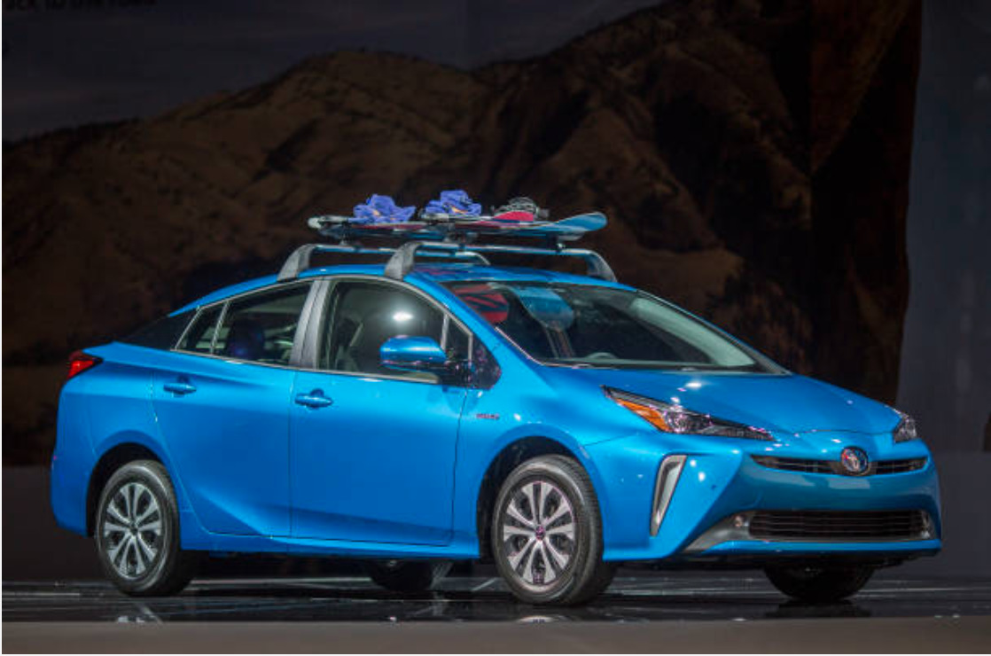 toyota prius new features