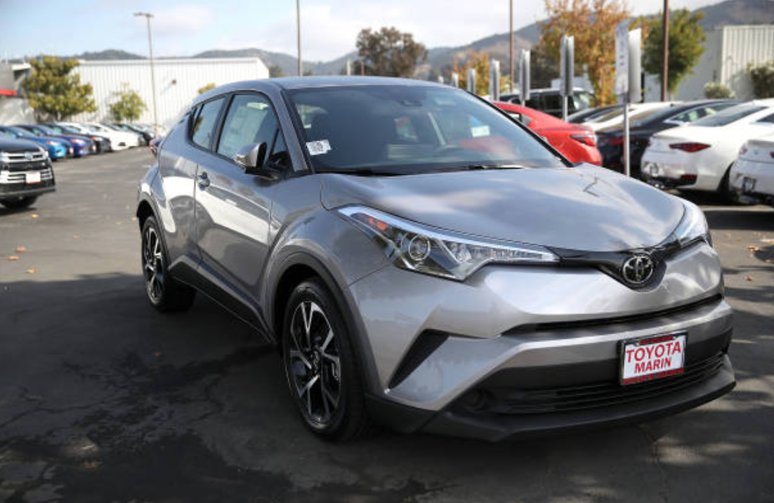 Toyota C-HR best suvs