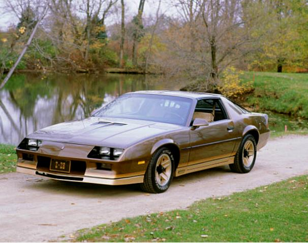 1982 Chevrolet Camaro worst muscle cars