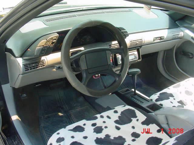 interior of pontiac grand prix