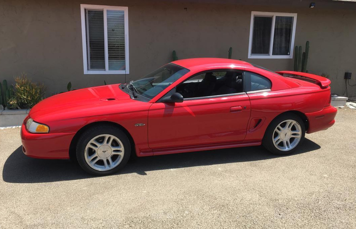 1998 Ford Mustang worst muscle cars