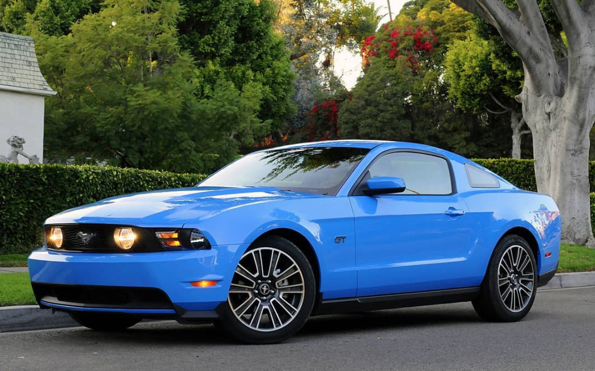 2010 Ford Mustang worst muscle cars