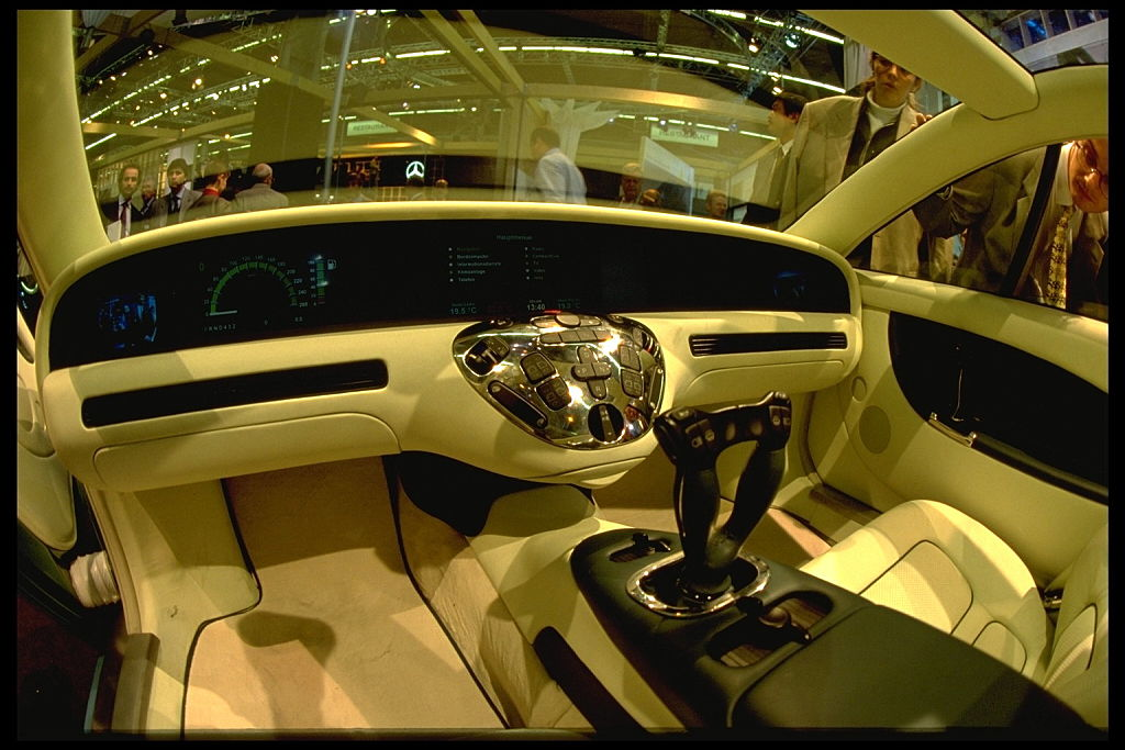 interior of mercedes f200
