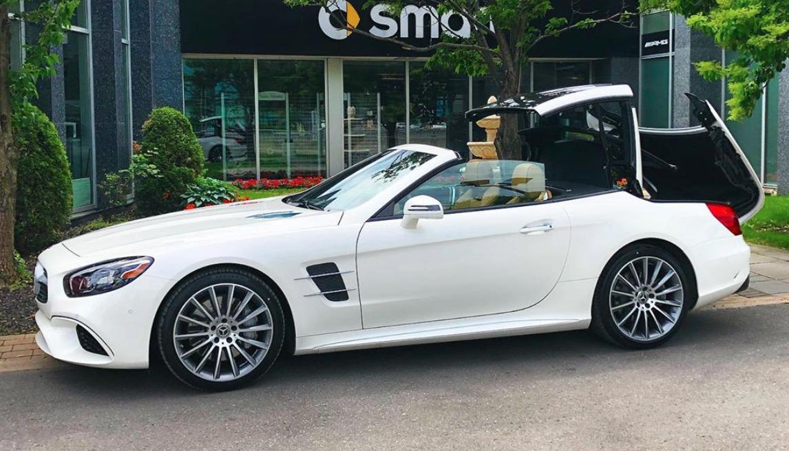 Mercedes-Benz SL550