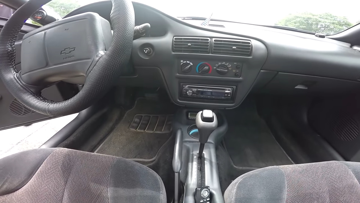 interiors of a chevy cavalier
