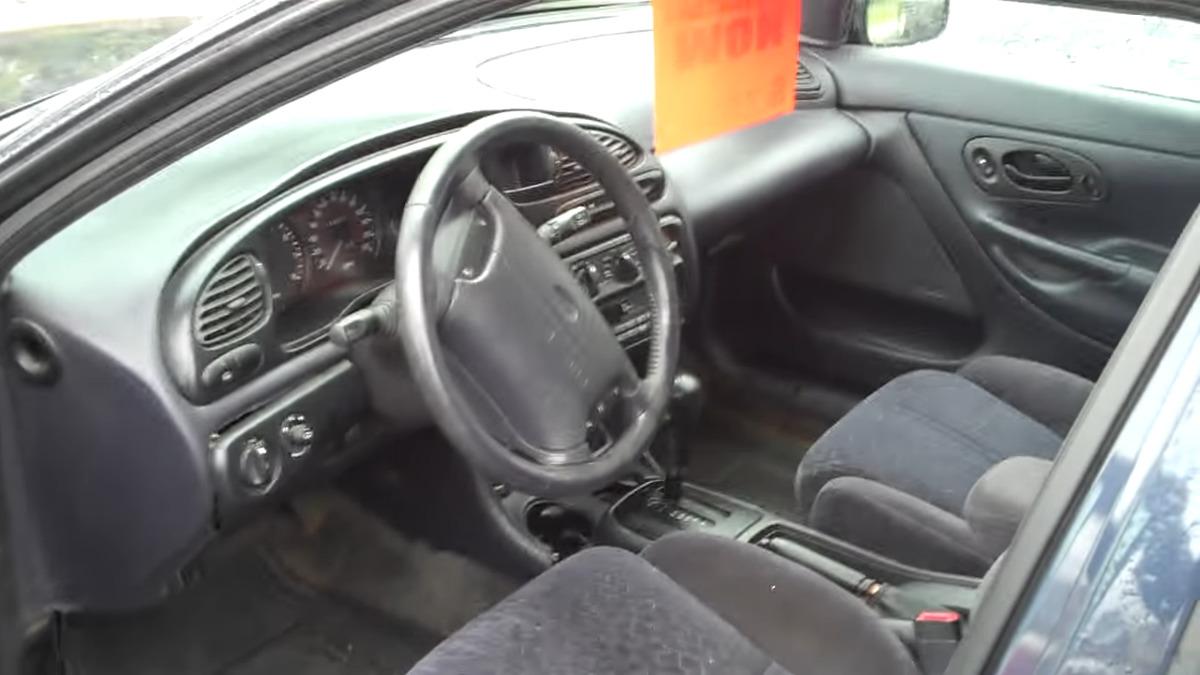 99 ford contour interior