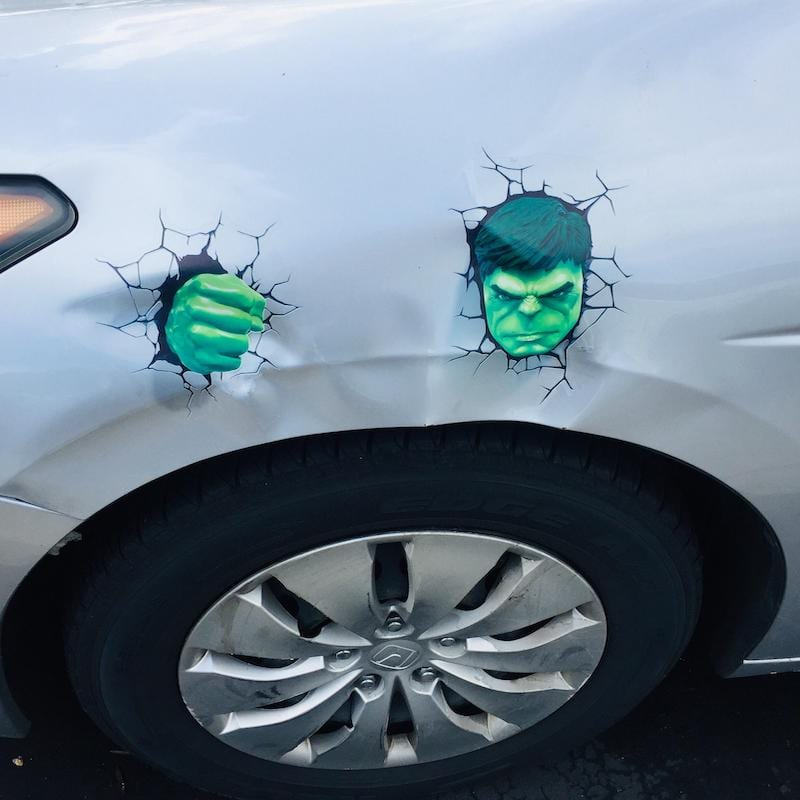 Hulk Smash Car!
