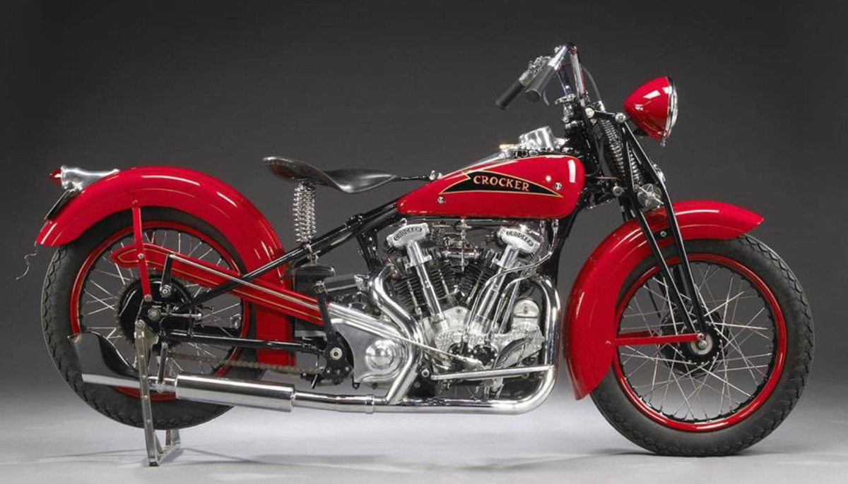 1942 Crocker V-Twin