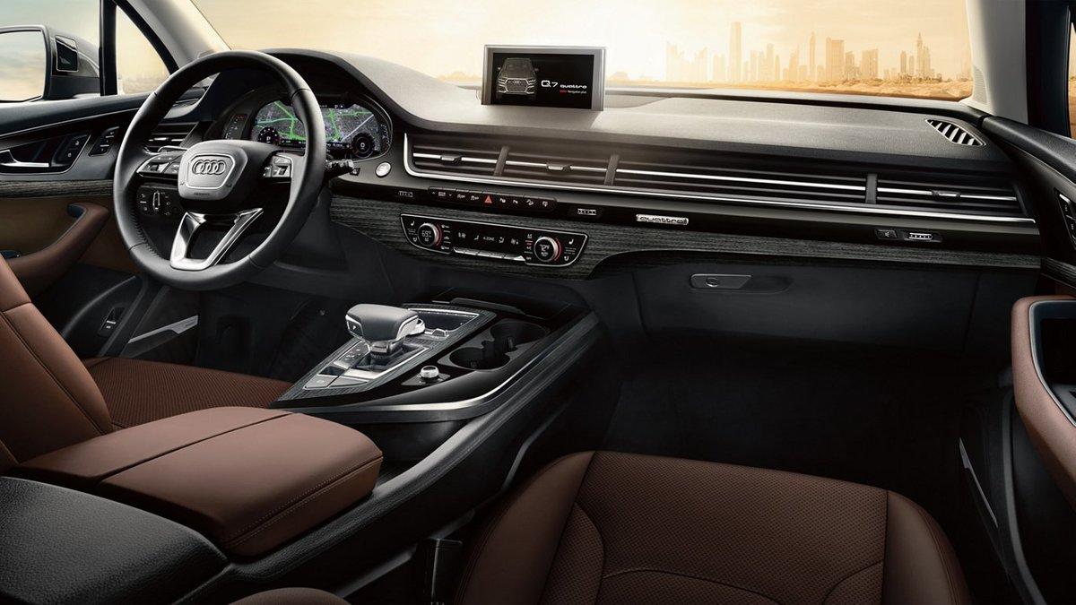 2019_Audi_Q7 interior