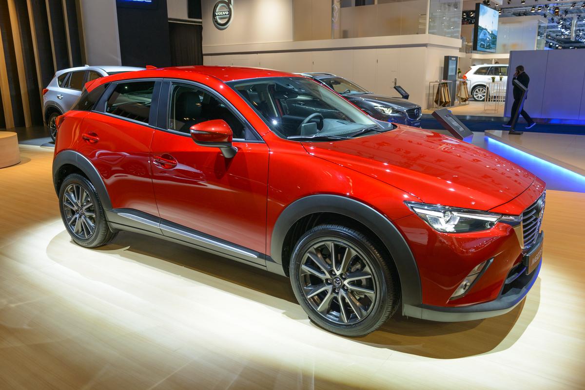 Mazda CX-3 compact family crossover SUV