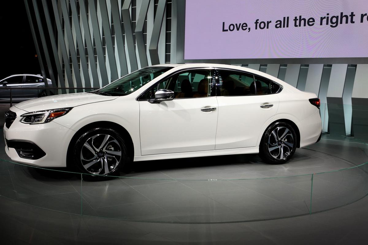 2020 Subaru Legacy is on display