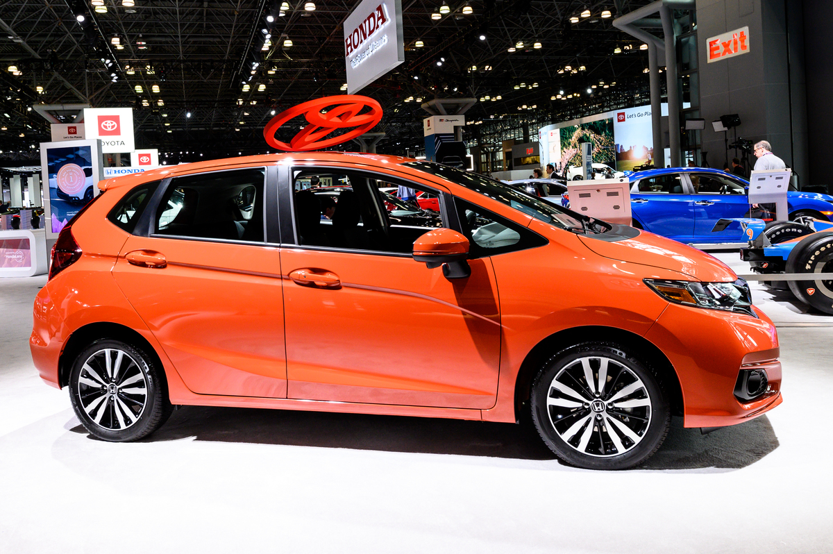 Honda Fit seen at the New York International Auto Show
